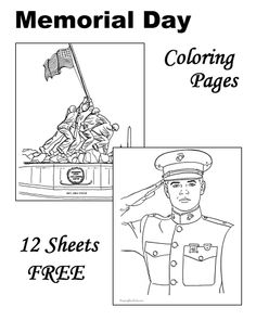 1000 images about patriotic fun for kids on pinterest for Memorial day coloring pages for kids