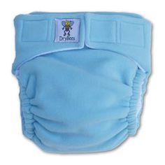 DryBees Night Times Fleece Pocket Diapers
