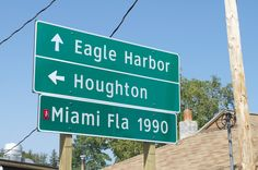 Copper Harbor, Michigan. The end of US-41...1990 miles from Miami. -- Been there, sooooo cool!