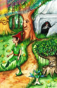 "Illustration for ""The Wormus"" - by Deepak Menon by Julie Sneeden"