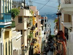 Take a stroll through the streets of San Juan. The city is characterized by its narrow cobblestone streets and flat-roofed brick and stone building dating back to the 16th and 17th century when Puerto Rico was under Spanish rule.