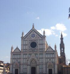 Santa Croce #Firenze :-)