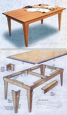 Shop Table Plans - Workshop Solutions Projects, Tips and Tricks | WoodArchivist.com