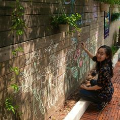 The back garden in Lu Patisserie in OCT Loft is a great place to escape from #shenzhen on the weekend.