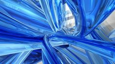 Cool Blue Glass - Bing Images