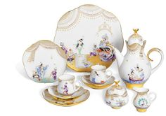 "Coffee set ""Arabian Night"" after Prof. Werner, for 2, H - cm"
