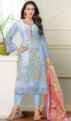 Anarkali Salwar Kameez Bollywood Designer Indian Suit Ethnic Pakistani Dress New #KriyaCreation