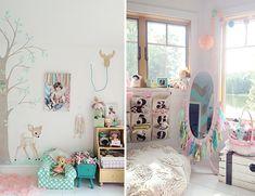 cute girls' nursery!