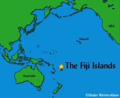 Fiji Location deals with the exact location of Fiji on the map of the world. Fiji is a group of islands or an archipelago in the South Pacific Ocean.