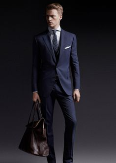 Cultures Hommes: Massimo Dutti Business Lux