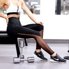 OH YESS!!! These tights were made for sweating Nothing like a workout outfit…
