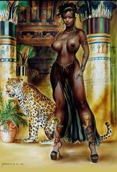 Interesting Africian queen sexy