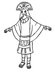 Incas coloring pages ~ 14 Best INCA EMPIRE COLORING BOOK images | Inca empire ...
