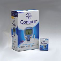 Bayer Contour Diabetic Test Strips and Meter Combo
