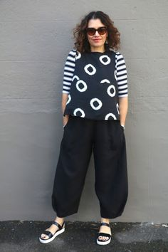 Sew Tessuti Blog - Sewing Tips & Tutorials - New Fabrics, Pattern Reviews: Our New Demi Pant Pattern