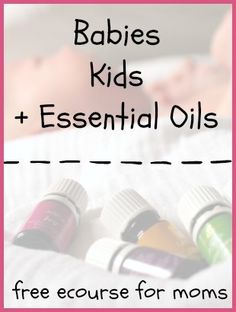 After this ecourse (5 emails in 5 days and that's it!) you'll: √ know what essential oils are; √ understand how to use them safely with babies and kids; √ have about a bajillion ideas of different uses essential oils have with your babies, kids, and in your home; and √ see first hand how …