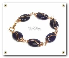 Wire Wrapping Tutorial Elegance Bracelet / COUPONS by ChloeDesign, $3.75