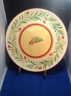 Gail Pittman SIENA Garland Border Dinner Plate Southern Living at Home #GailPittman