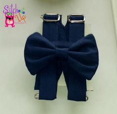 Navy blue, boys, Bow Tie, Suspender,wedding, birthday,cake smash, Easter, church, 4th of july, patriots, royal, dark, deep