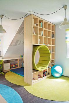 Cool Kids Rooms, Loft, Cool Stuff, Furniture, Home Decor, Decoration Home, Room Decor, Lofts, Home Furnishings