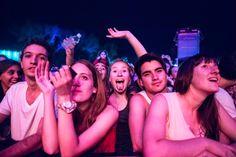 ¡Primera fila! Los fans escuchando a #JackJohnson en el #MovistarFreeMusic.