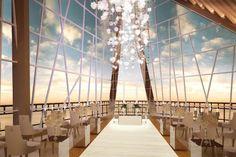 Pearl Chapel by Samabe Bali Resort  & Villas #Bali #luxury #wedding