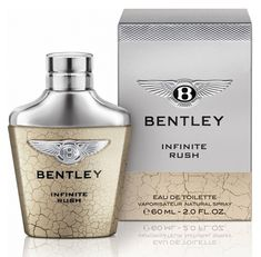 Infinite Rush Bentley cologne - a new fragrance for men 2016