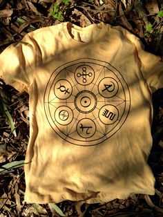 Merlin Circle T-Shirt Magic Occult invocation Symbols (15.00 USD) by MerlinsMagicWand