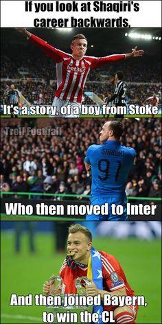 The incredible story of Xherdan Shaqiri (If he joins Stoke City)
