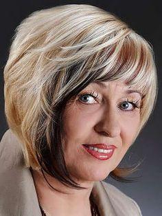 Cortes Peinados y mas: Peinados para mujeres mayores de 50 años
