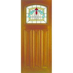 Image of Edinburgh External Hardwood Door - Coloured Triple Glazing