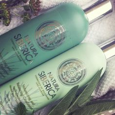 Natura Siberica shampoo and conditioner for volumizing and balancing Natura Cosmetics, Oily Hair, Shampoo And Conditioner, Active Ingredient, Natural Materials, Red Bull, Health And Beauty, Therapy, Herbs