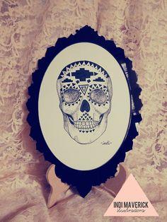 Indi Maverick skull