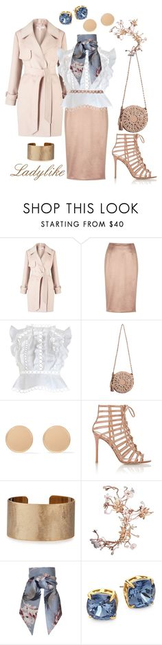 """""""Ladylike"""" by jennymblue on Polyvore featuring Miss Selfridge, River Island, Zimmermann, Givenchy, Gianvito Rossi, Panacea and Tory Burch"""