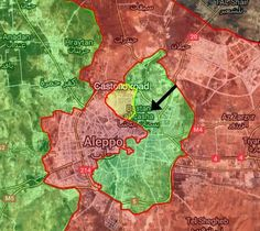 BREAKING: Heavy Airstrikes and artillery shelling on several neighborhoods of #Aleppo city! #Syria #FSA #SAA #Russia