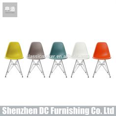 Hue knew Eames Molded Plastic Chairs now come in nine new colors