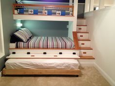 Bunk beds with trundle - sleeps 5