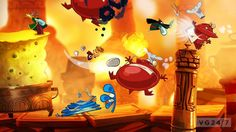 Absolutely gorgeous Rayman Origins artwork and screens arrive   VG247