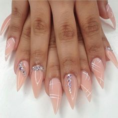 Nice #NailJewels