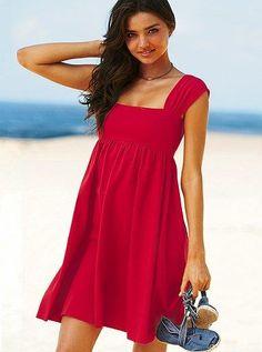 Платье squareneck babydoll bra top dress