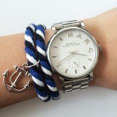 Nautical bracelet by Angélica