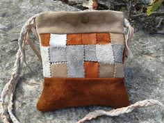 Small Purse Bag / Crossbody Bag Purse / Suede by LunaBagDesigns, $70.00