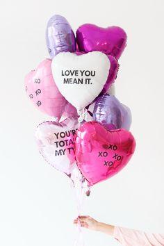 #DIY #ValentinesDay Balloons