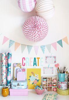 giochi di carta: My Craft Room {back to work!!!}