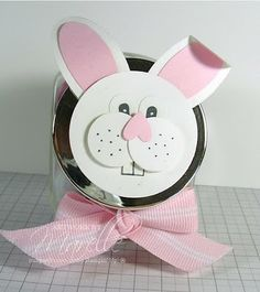 Same idea as the bunny mailbox but made with jar instead easter marelle taylor stampin up demonstrator sydney australia bunny negle Images