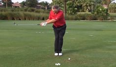School of Golf host Martin Hall has a great drill to help you understand what it feels like to get your weight shifting forward during your downswing.