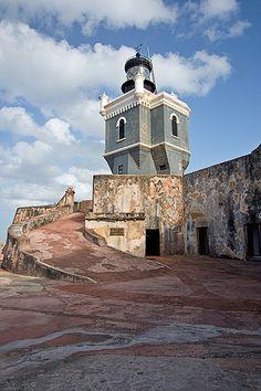 El Morro Lighthouse  San Felipe del Morro  Puerto  Rico