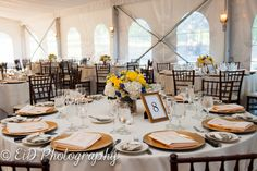 Elegant banquet hall at West Hills Country Club Hudson Valley Photography Wedding Photography Hudson Valley photographer Photographed by EID Photography