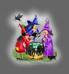 rule of three Easy Halloween Crafts, Fete Halloween, Halloween Clipart, Spooky Halloween, Happy Halloween, Halloween Decorations, Halloween Images, Illustrations, Illustration Art