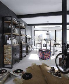 recycled wood - industrial design - massivum